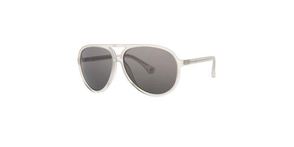 Pánske biele transparentné slnečné okuliare Michael Kors