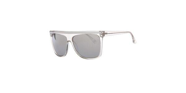 Pánske transparentné slnečné okuliare s rovným horným rámčekom Michael Kors