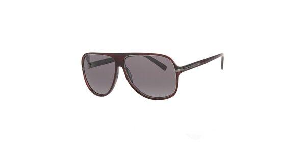 Pánske hnedé slnečné okuliare Michael Kors