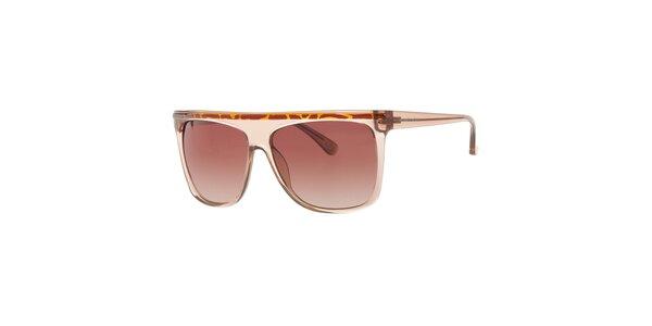 Pánske slnečné okuliare s rovným horným rámčekom Michael Kors
