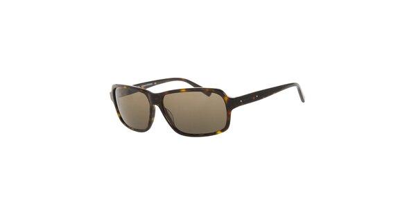 Pánske klasické žihané slnečné okuliare Michael Kors