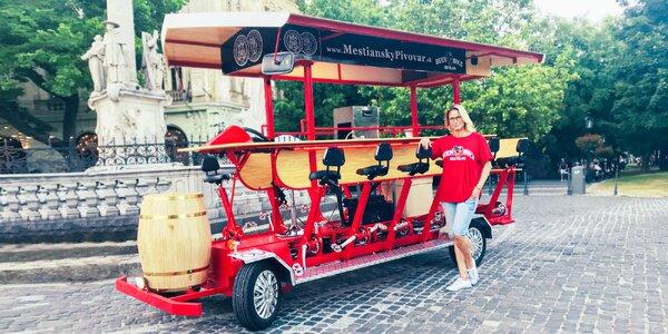 Pivo a bicykel pre celú partiu? To je Beer Bike!