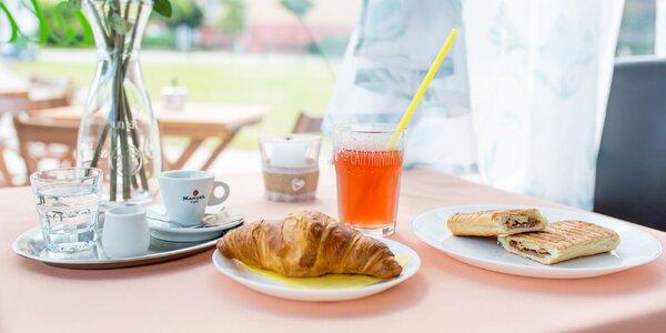 Lahodné panini alebo croissant aj s možnosťou take away
