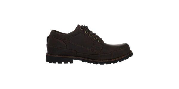 Pánske hnedé šnurovacie topánky Timberland
