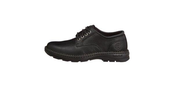 Pánske klasické čierne topánky Timberland