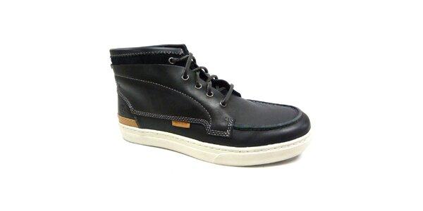 Pánske čiernobiele topánky Timberland