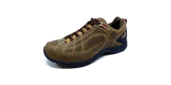 Pánske hnedé športové topánky Timberland