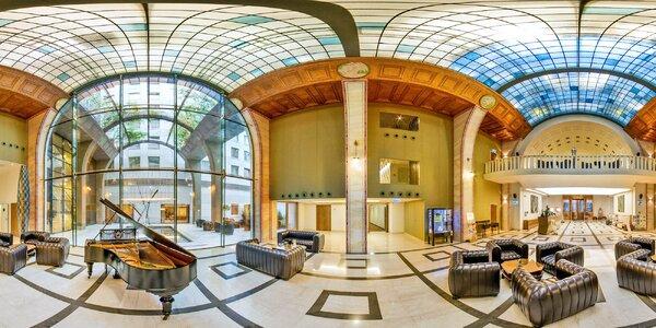 Luxusný hotel v centre Budapešti s wellness