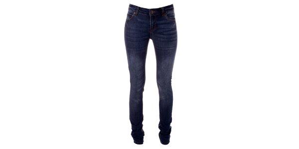 Dámske modré strečové džínsy Only