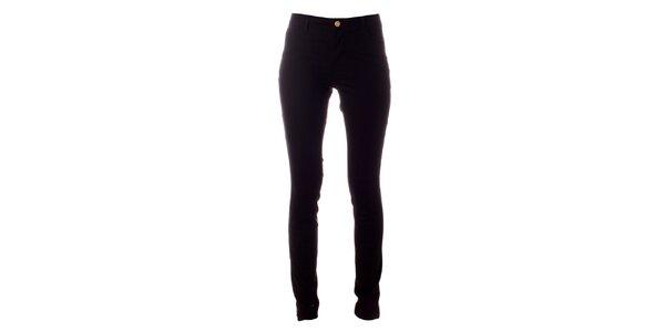 Dámske čierne elastické nohavice Only