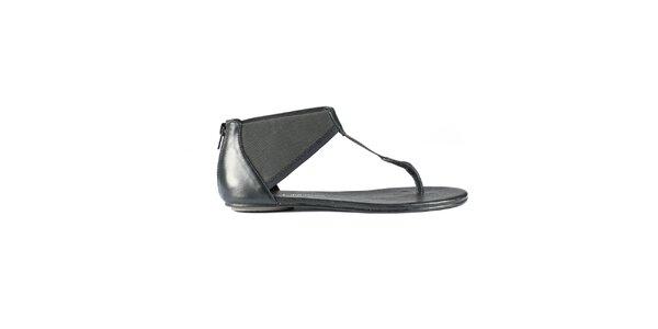 Dámske čierne sandále Lise Lindvig