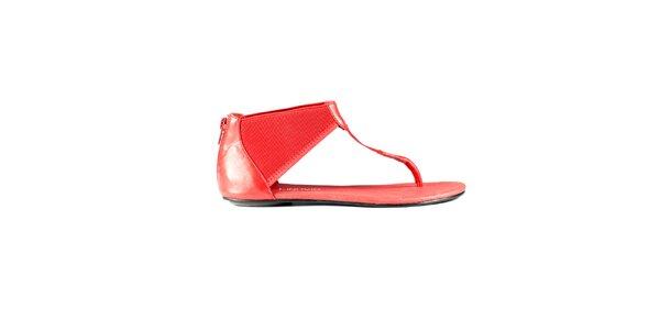 Dámske červené sandále Lise Lindvig