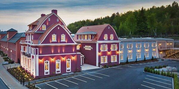 4* hotel v Karlových Varoch: skvelé jedlo, wellness aj vlastná kinosála