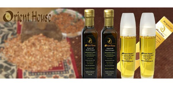 Arganový olej priamo z Maroka