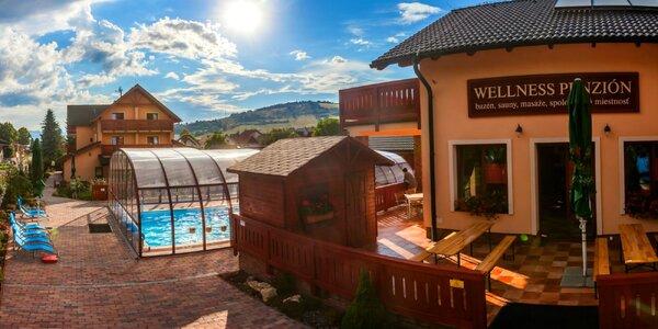 Pobyt pri Bešeňovej: bazén, jacuzzi, sauny a kopec aktivít