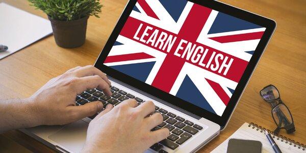 Online kurz angličtiny + uznávaný certifikát!