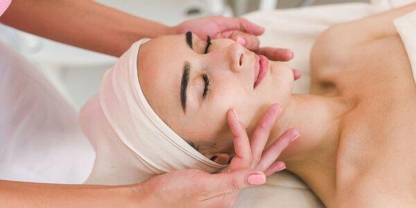 Lymfodrenáž tváre a ošetrenie 95% kyslíkom