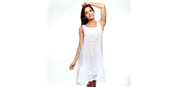 Dámske biele šaty Trois Quatorze