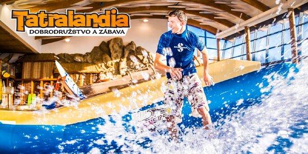 Surf Waves Tatralandia - Adrenalín na vlnách v lete aj v zime!