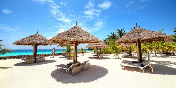 Exkluzivný 5* hotel pri najkrajšej pláži na Zanzibare: 6-12 nocí, all inclusive