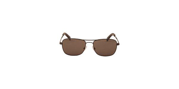 Pánské čierne slnečné okuliare Calvin Klein