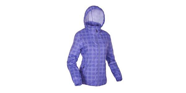 Dámska modrá kockovaná funkčná bunda Envy