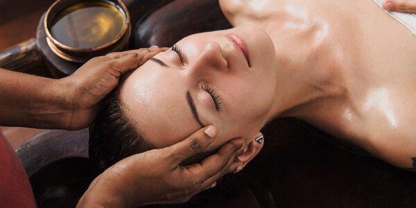 Nádherný relax počas pravej ajurvédskej masáže