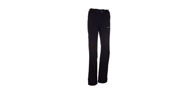 Dámske čierne elastické športové nohavice Envy