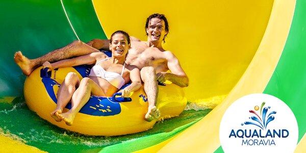 Jeseň v Aqualande Moravia: bazény aj wellness