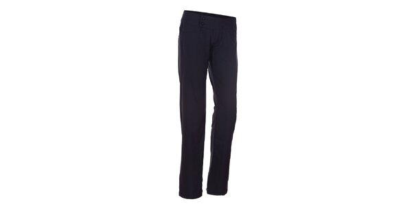 Dámske čierne elastické nohavice Envy