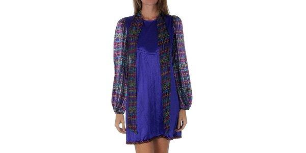 Dámske fialové šaty Custo Barcelona