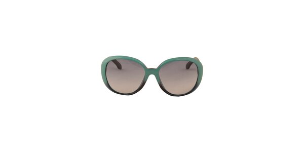 Dámske tyrkysové slnečné okuliare