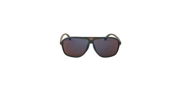 Dámske modrozelené slnečné okuliare Calvin Klein