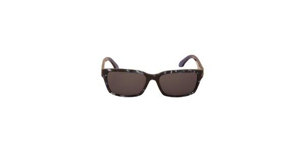 Dámske temno modré slnečné okuliare Calvin Klein