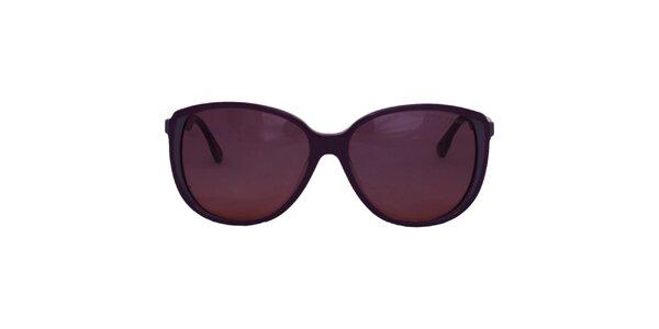 Dámske fialové slnečné okuliare Emporio Armani