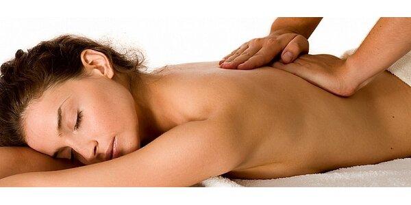 45 minutová masáž podľa vlastného výberu