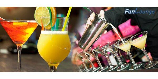Miešané drinky alebo konzumný kupón