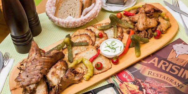 Pivo, rebrá či celý lopár mäsových dobrôt v Carisime