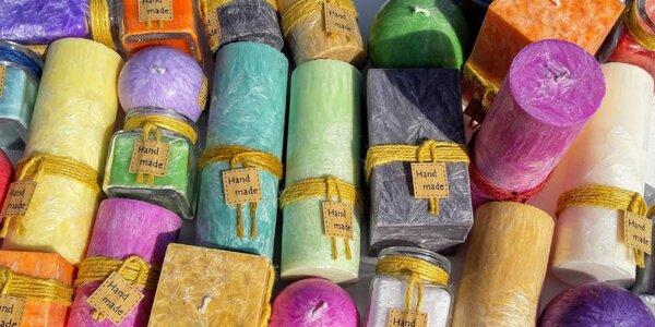 Darčekové balenie ekologických palmových sviečok