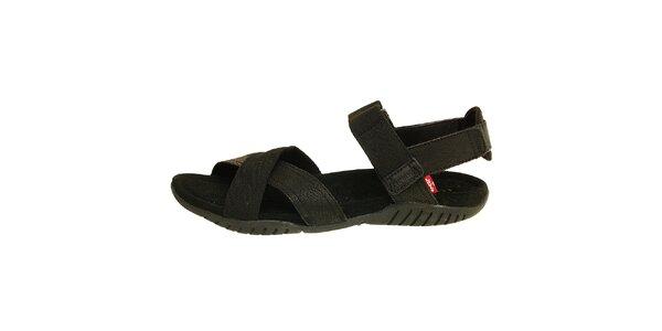 Dámské čierne sandále Levis