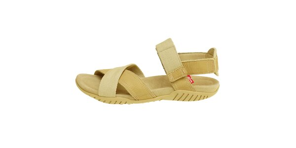 Dámske béžové sandále Levis