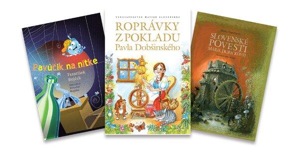 Rozprávkový knižný darček pre vaše deti