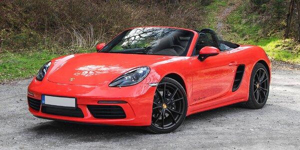 Jazda v kabriolete Porsche 718: skroťte jeho 380 koní!