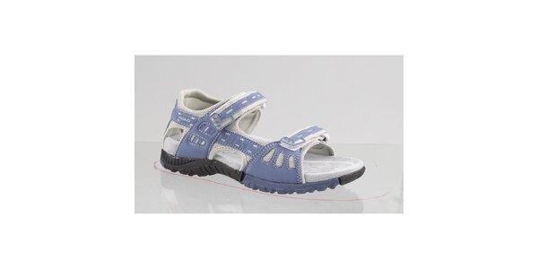 Dámske šedo-modré outdoorové sandále Head