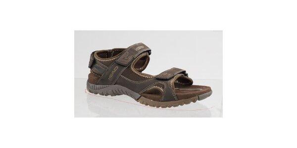 Hnedé outdoorové sandále Head