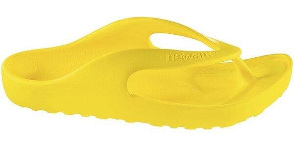 Žlté žabky Newalk