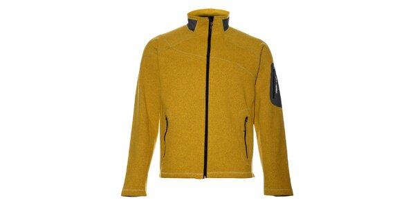 Pánsky žltý športový sveter Trimm