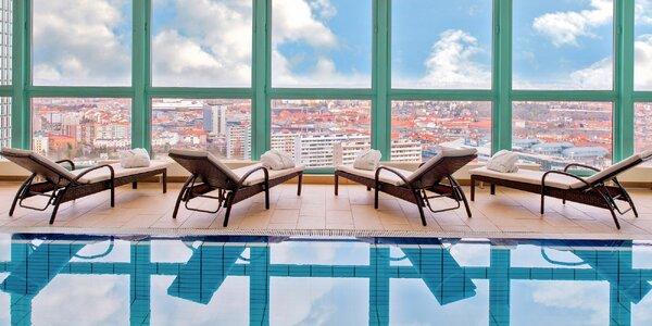 4 * pobyt v hoteli Panorama v Prahe: raňajky s neobmedzeným wellness aj…