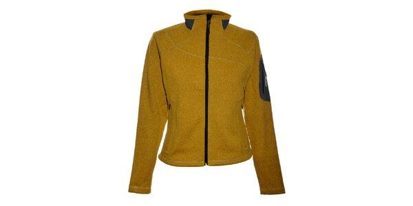 Dámsky žltý športový sveter Trimm