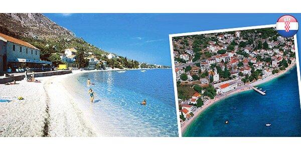 Na 8 dní do slnečného Chorvátska pre 2 osoby